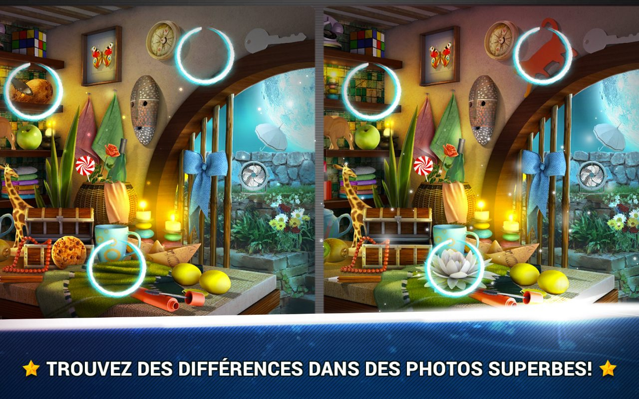 Trouver La Différence Chambres - Jeux Midva Gratuits destiné Jeux De Différence