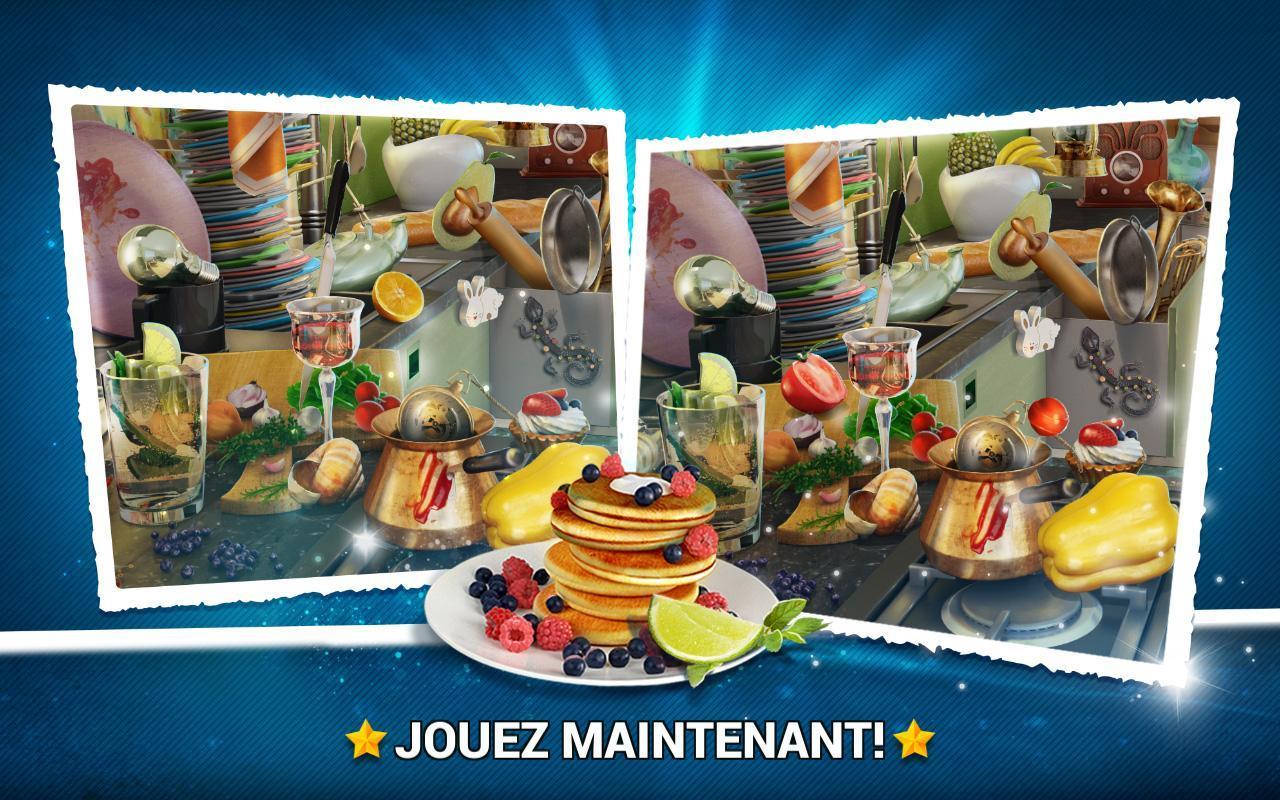Trouver La Différence Cuisine – Jeux Des Erreurs Pour à Jeux De La Différence