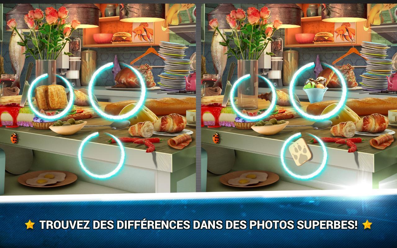 Trouver La Différence Cuisine – Jeux Des Erreurs Pour destiné Trouver La Différence