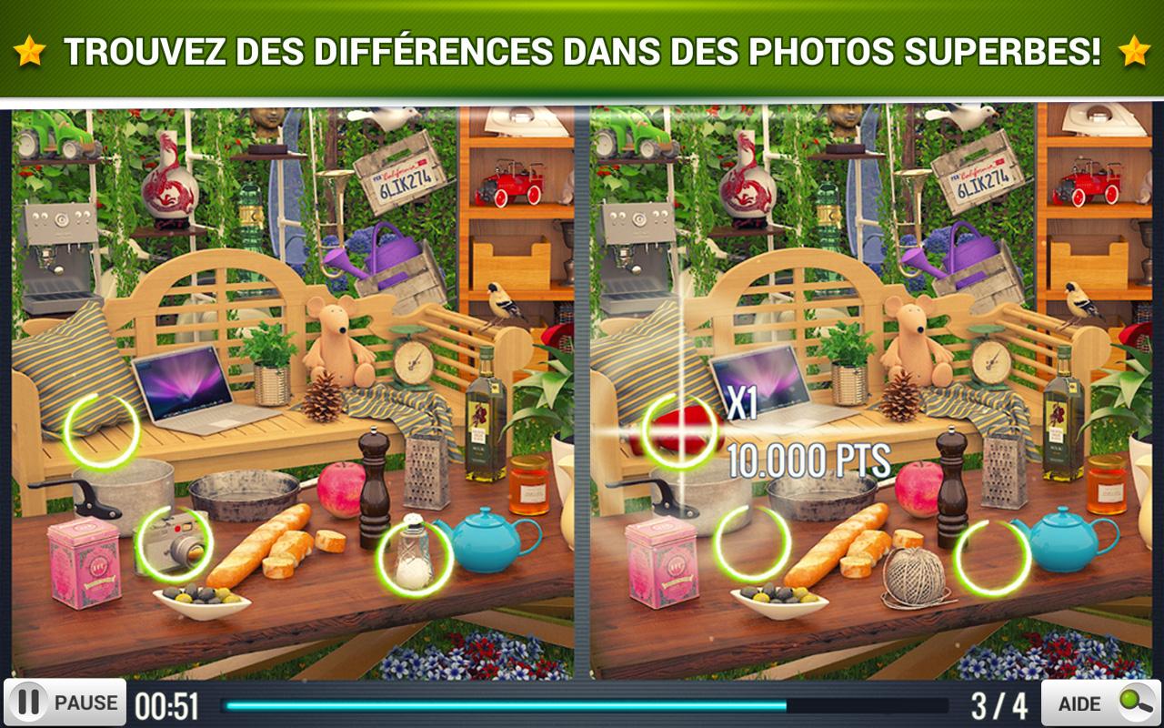 Trouver La Différence Jardin - Jeux Midva Gratuits. destiné Jeux De Différence