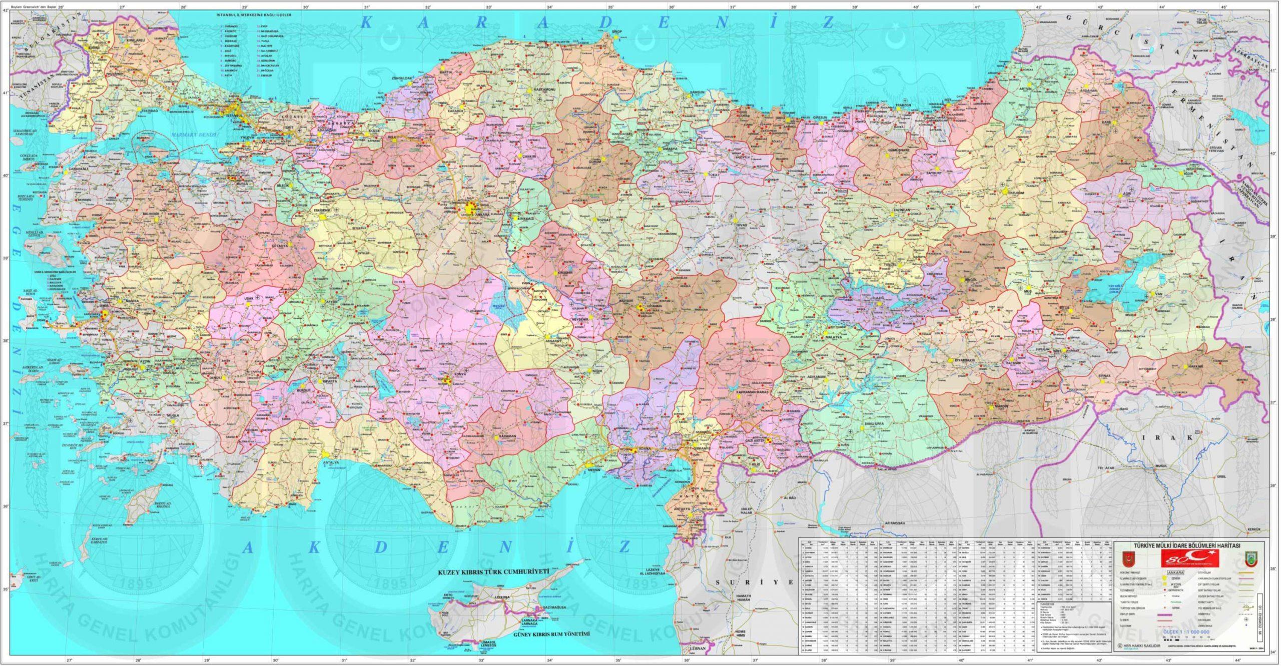 Turquie Carte à Carte De France Avec Region