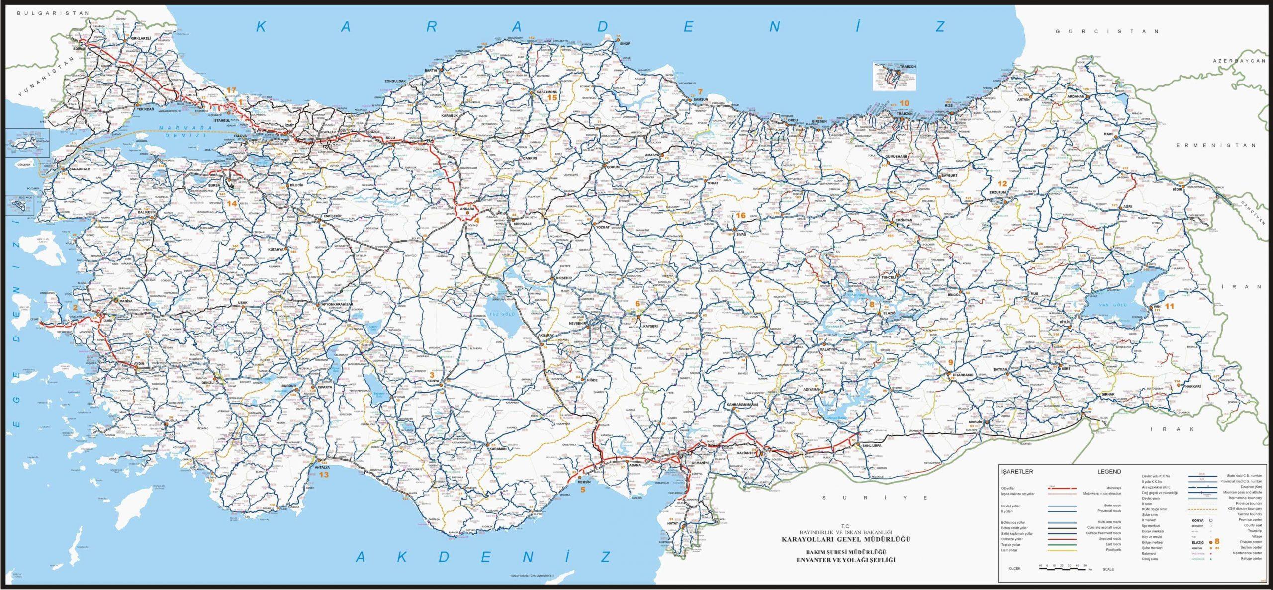 Turquie Carte pour Carte De France Avec Region