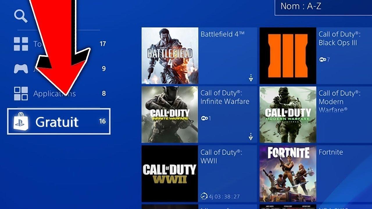 Tuto Avoir Tous Les Jeux Gratuitement Sur Playstation 4 ! (Astuce Jeux  Gratuit Ps4) intérieur Tous Les Jeux Gratuits De Fille
