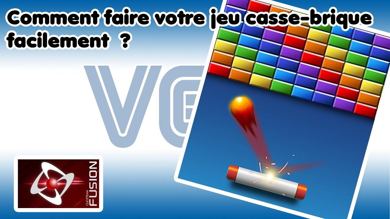 Tuto Clickfusion : Faire Un Jeu De Casse-Briques. encequiconcerne Jeu Casse Brique