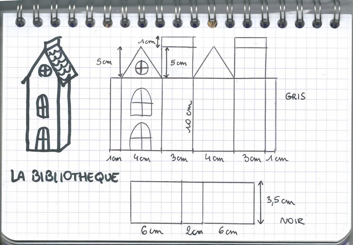 Tuto : Fabriquer Une Maison Hantée Pour Halloween - M6 Deco.fr dedans Patron De Maison En Papier A Imprimer