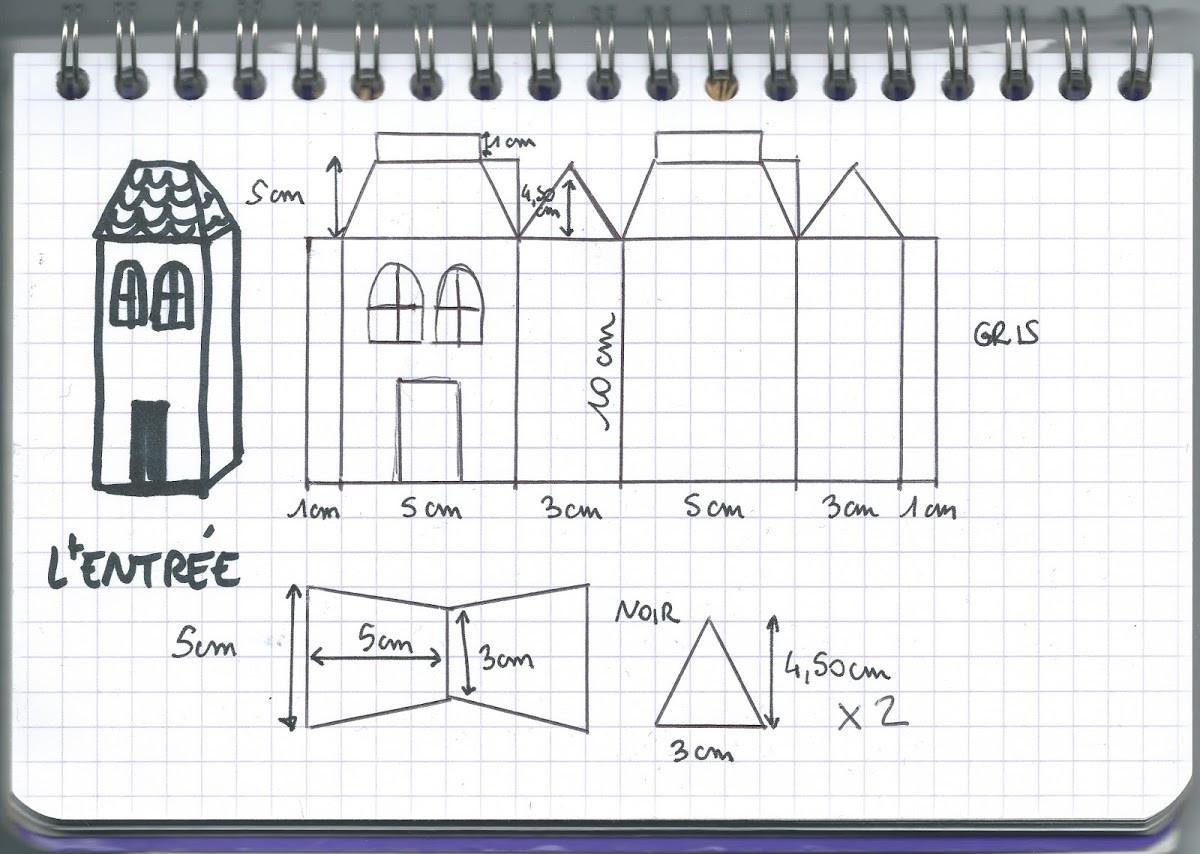 Tuto : Fabriquer Une Maison Hantée Pour Halloween - M6 Deco.fr destiné Patron De Maison En Papier A Imprimer