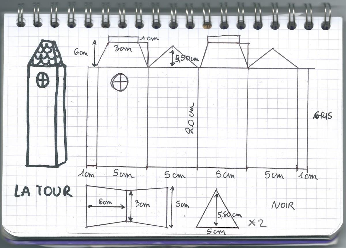 Tuto : Fabriquer Une Maison Hantée Pour Halloween - M6 Deco.fr encequiconcerne Patron De Maison En Papier A Imprimer