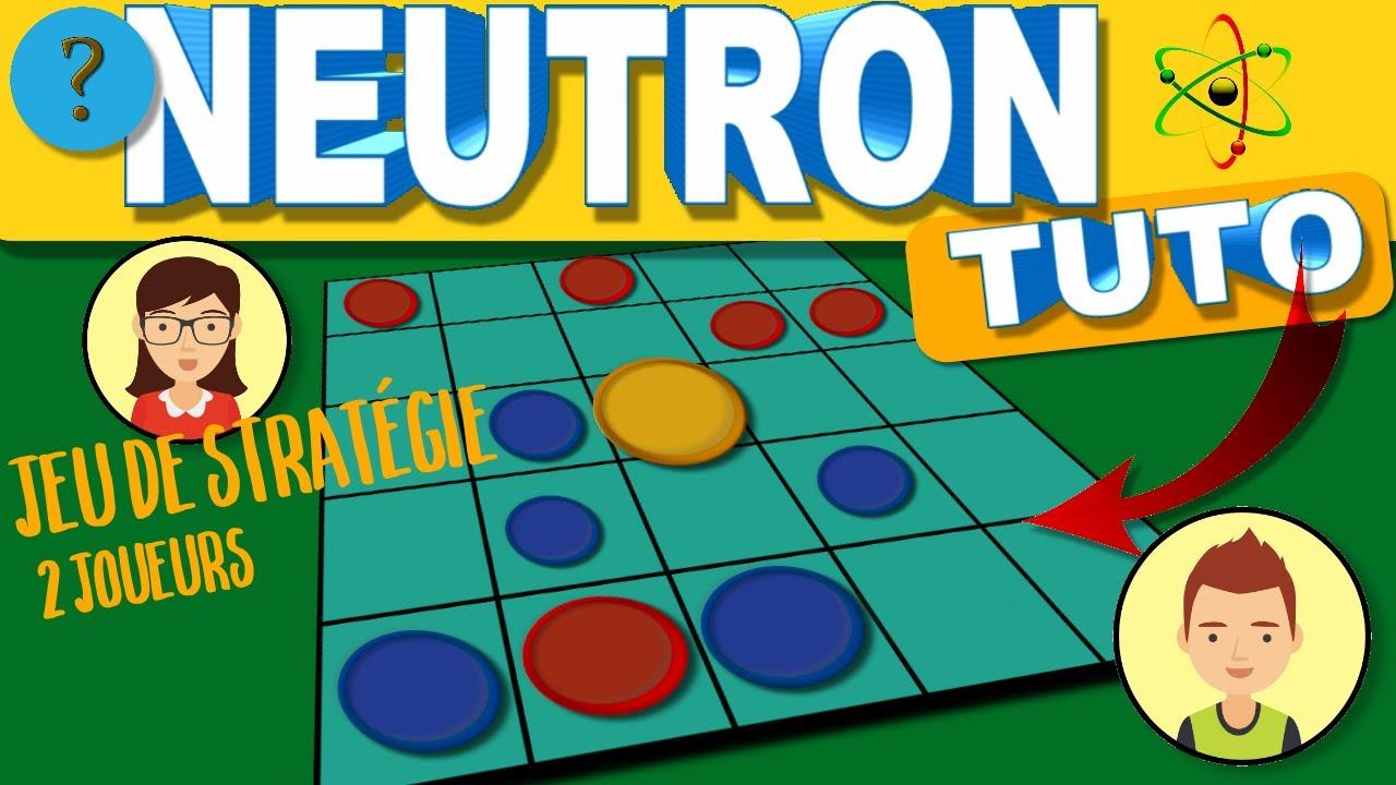 Tuto. Tutoriel Jeu Du Neutron. Jeu De Stratégie Pour 2 Joueurs. Jeux &  Logique. dedans Je De Logique