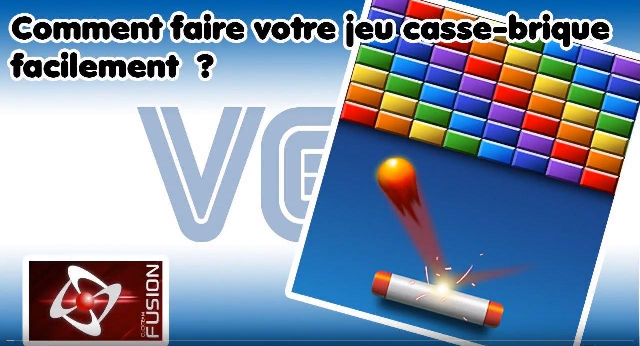 """Tutoriel """"casse Briques"""" - Le Comptoir Du Clickeur tout Le Casse Brique"""