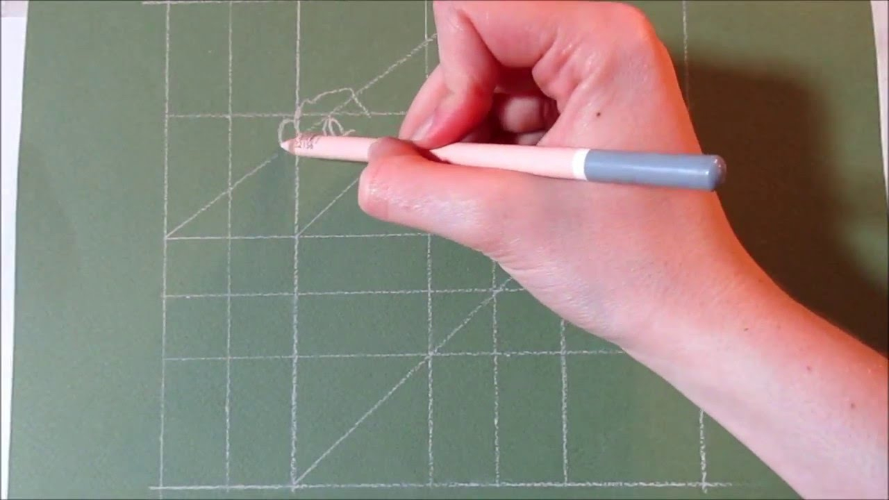 [Tutoriel N°15] Apprendre La Technique Du Quadrillage tout Reproduire Un Dessin Sur Quadrillage