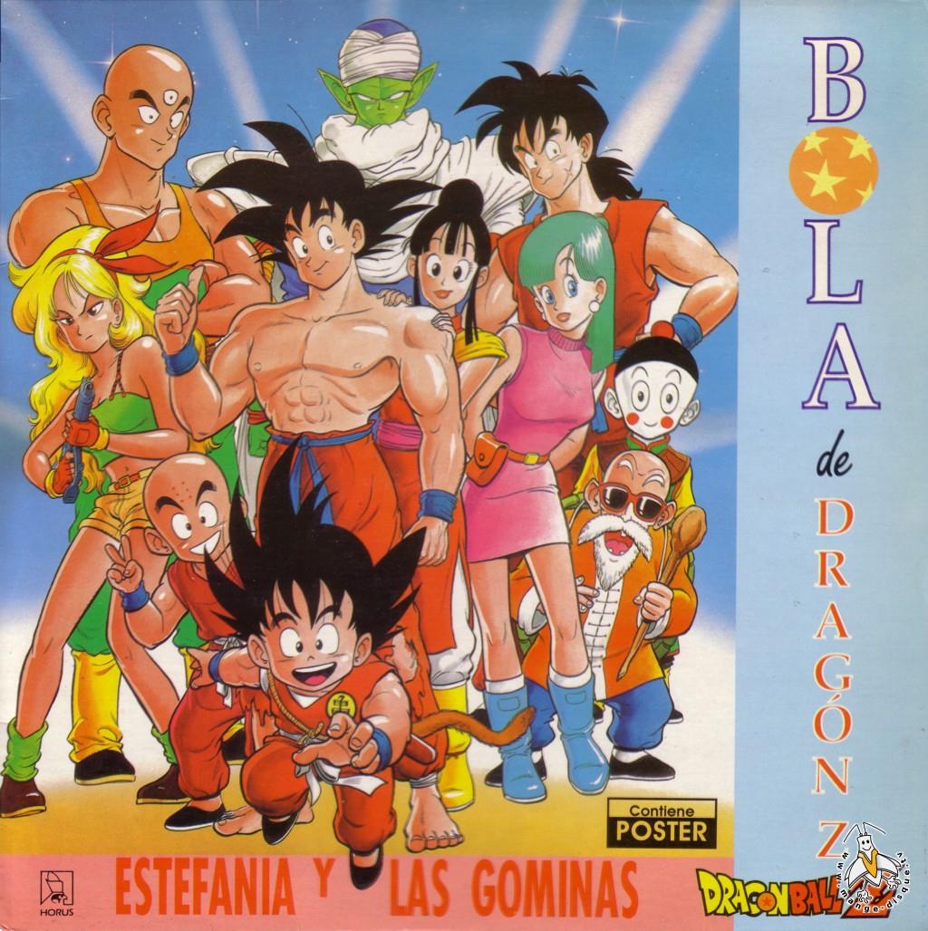 Tv Series And Cartoons Records Bola De Dragon Z Estefania Y encequiconcerne Dessin Animé De Dragon Ball Z