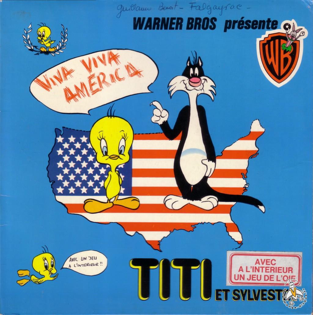Tv Series And Cartoons Records Warner Bros Présente Titi Et avec Dessiner Titi