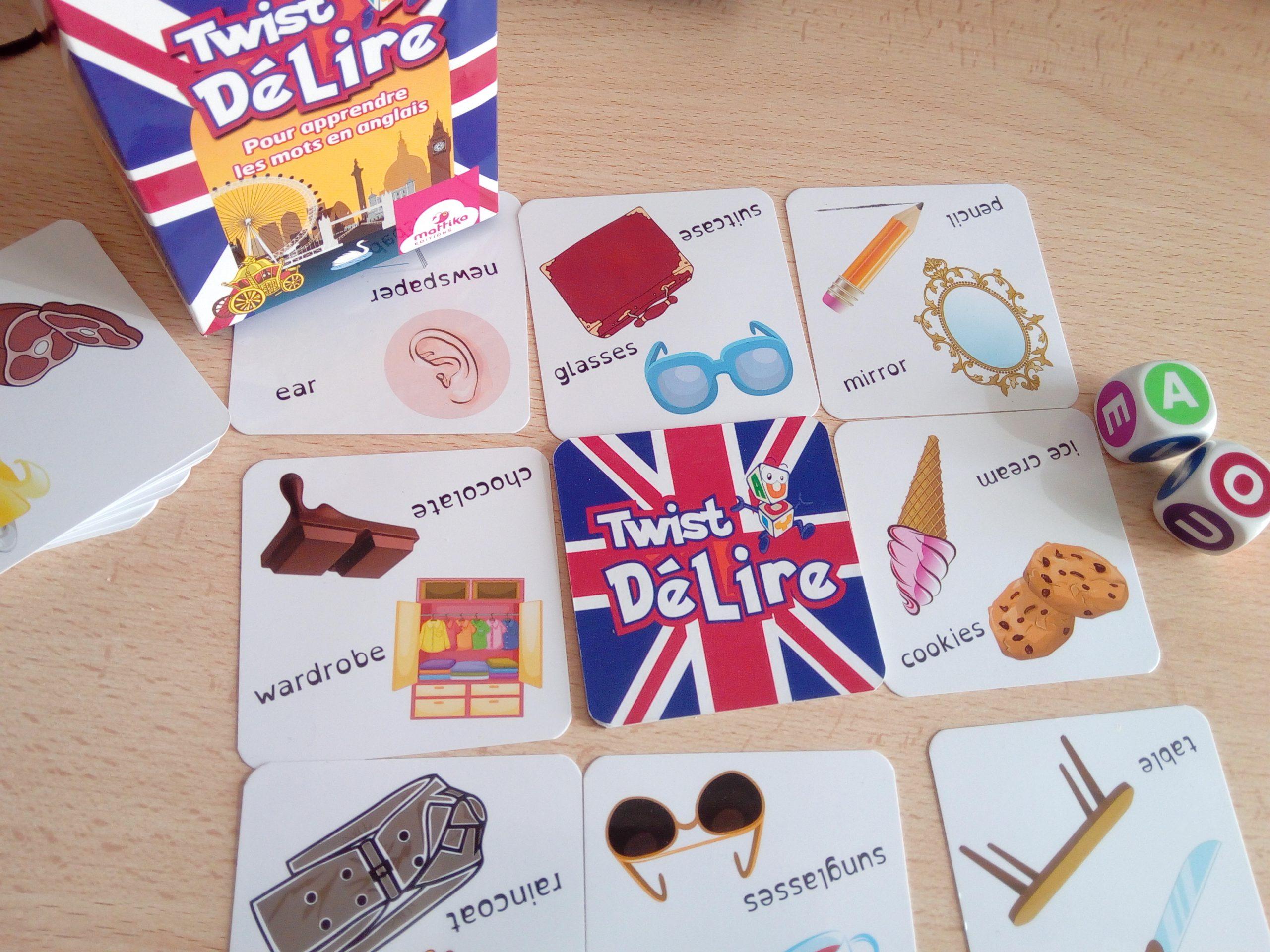 Twist Délire : Un Jeu Progressif Pour Apprendre Des Mots En concernant Jeu De Mot En Anglais