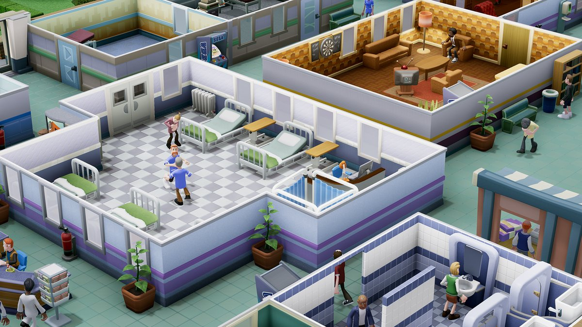 Two Point Hospital : Sega Et D'anciens De Bullfrog Préparent serapportantà Jeux 3 À La Suite