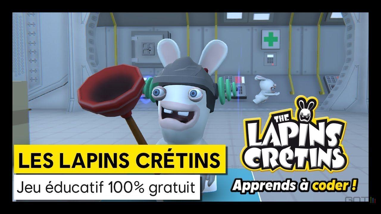 Ubisoft Lance Les Lapins Crétins : Apprends À Coder, Un avec Jeux Educatif Gratuit En Ligne
