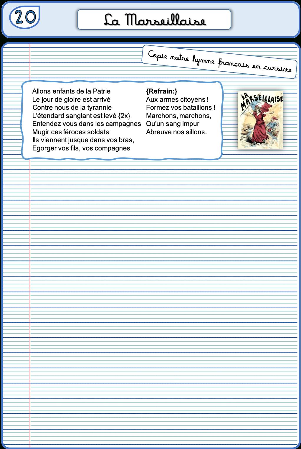 Un Cahier D'écriture Cm1 Cm2, Fiches À Photocopier – La à Exercice D Écriture Ce2
