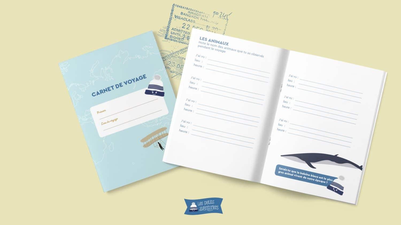 Un Carnet De Voyage Pour Enfant À Imprimer ! - Les Petits pour Carnet De Vacances À Imprimer