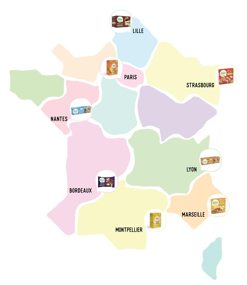 Un Goûter Magique Pour Vos Petits-Enfants - Grand-Mercredi encequiconcerne Carte De France Pour Enfant