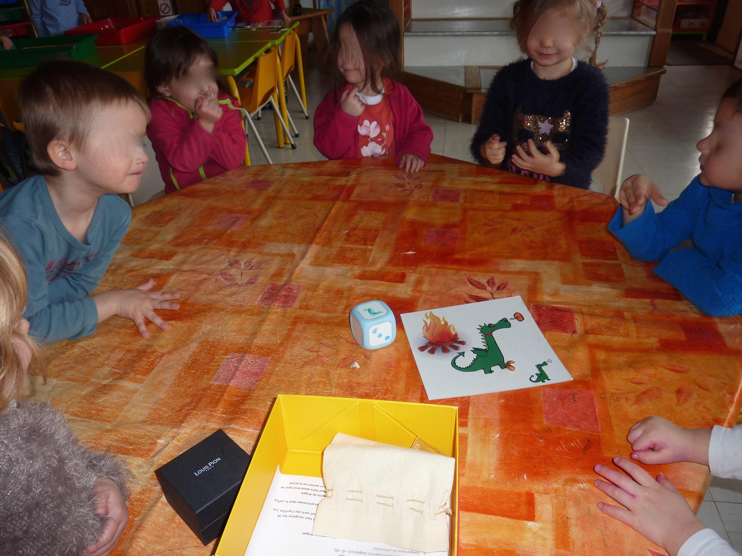Un Jeu Coopératif En Petite Section : Le Jeu Du Dragon à Petit Jeu Maternelle