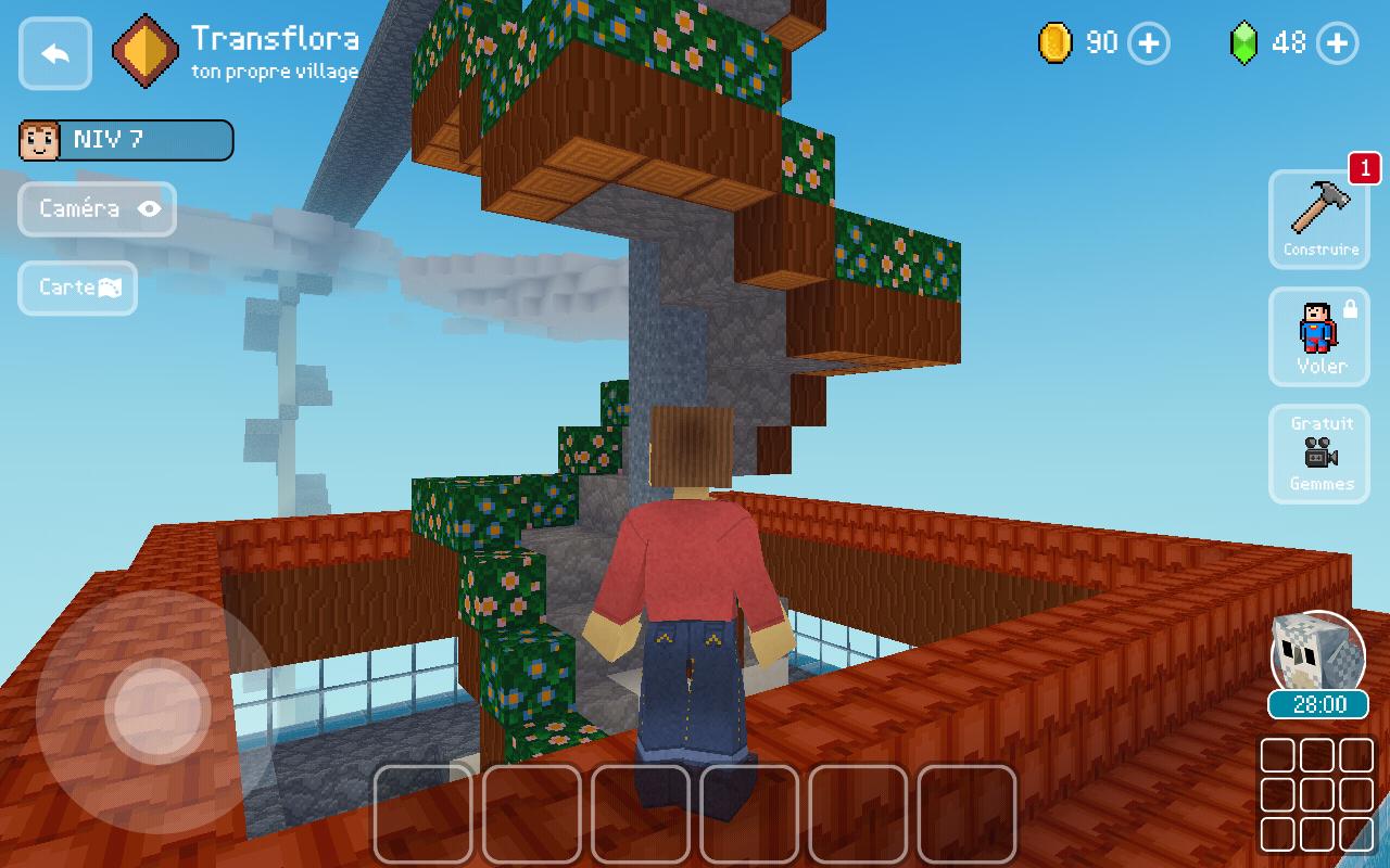 Un Jeu De Construction Très Reposant Block Craft 3D. - Jeux avec Jeux Gratuit De Village