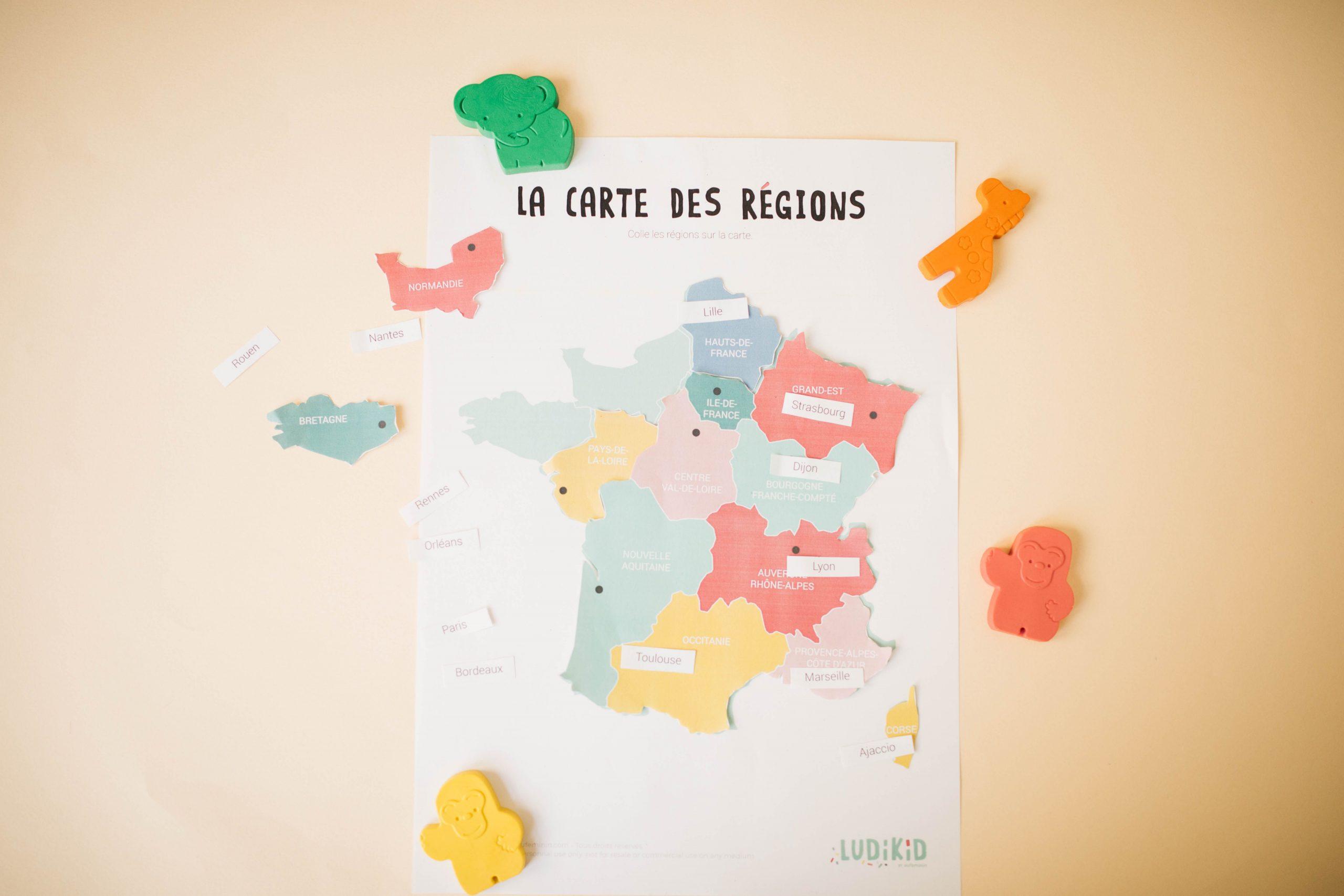 Un Jeu Pour Apprendre Les Régions De France ? C'est À avec Apprendre Les Régions De France