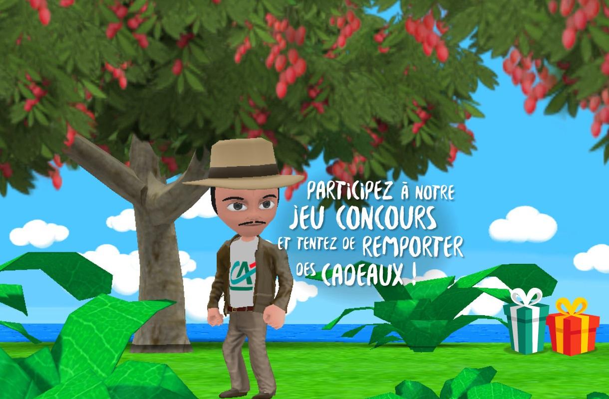 Un Jeu Vidéo Péi Pour Les 70 Ans Du Crédit Agricole tout Jeux Gratuit 3 Ans