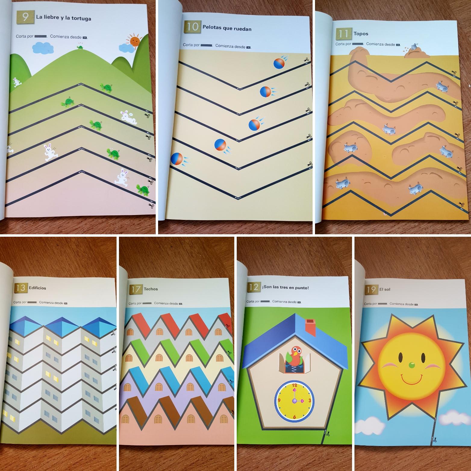 Un Superbe Fichier De Découpage Enfant: Recortar, Le Cahier concernant Decoupage Pour Enfant