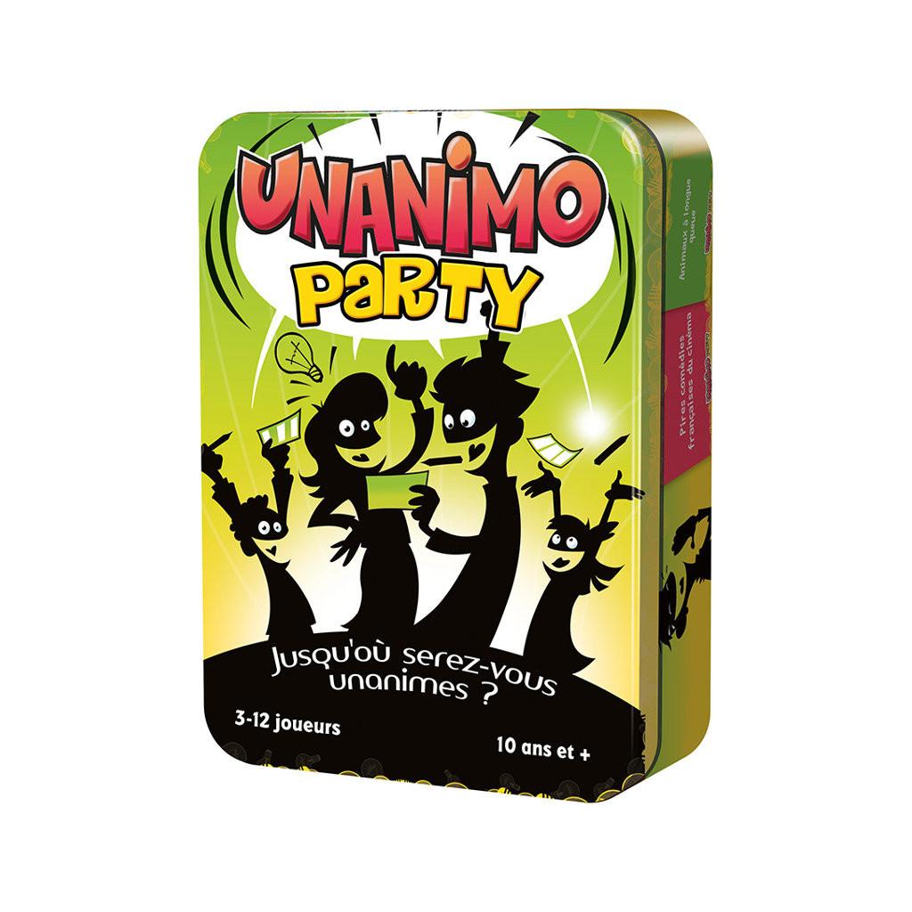 Unanimo Party - Cartes Et Petits Jeux - Achetez Sur Ludifolie encequiconcerne Jeux 3 À La Suite