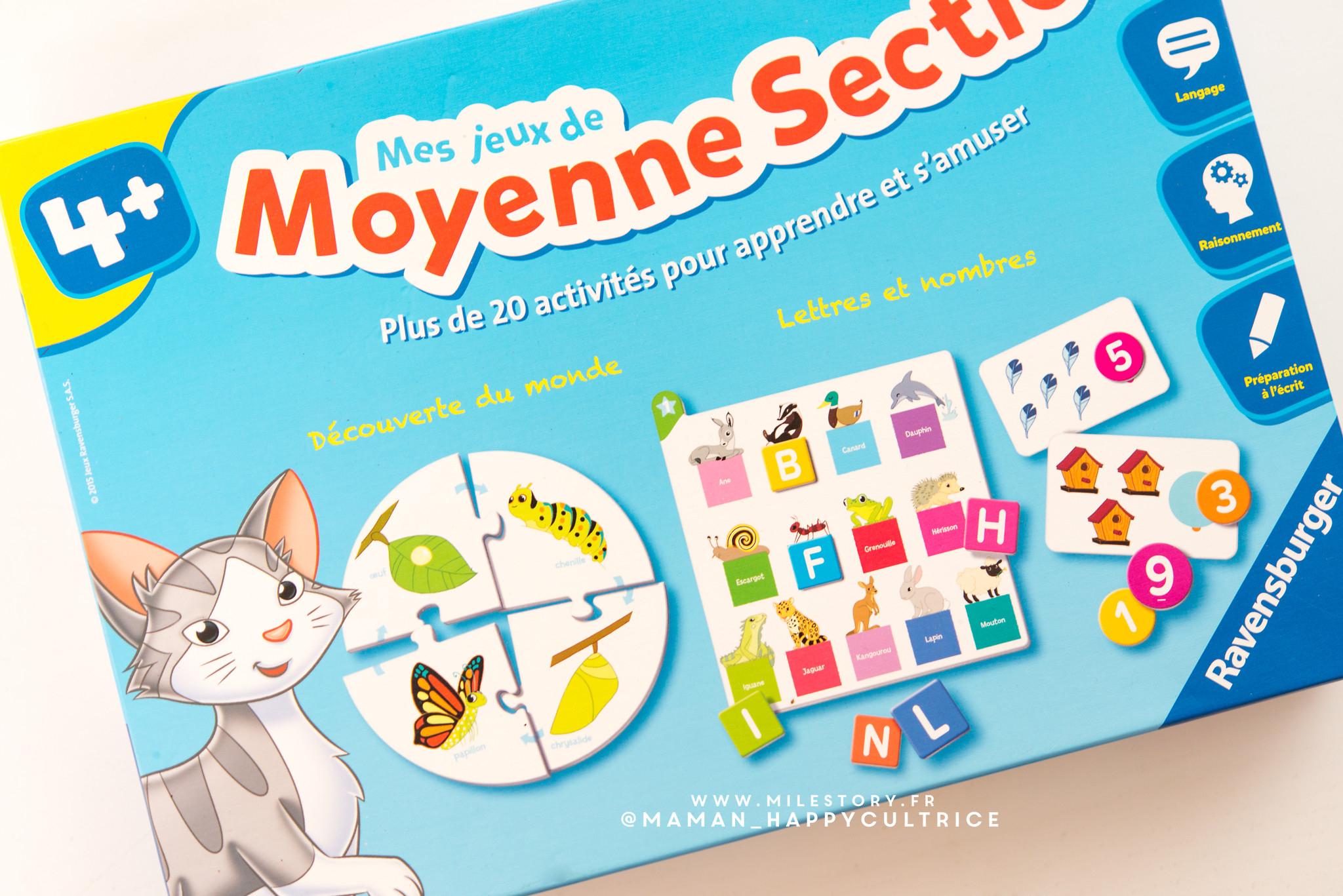 Unboxing : Mes Jeux De Moyenne Section De Maternelle - Milestory destiné Jeux Maternelle Petite Section Gratuit