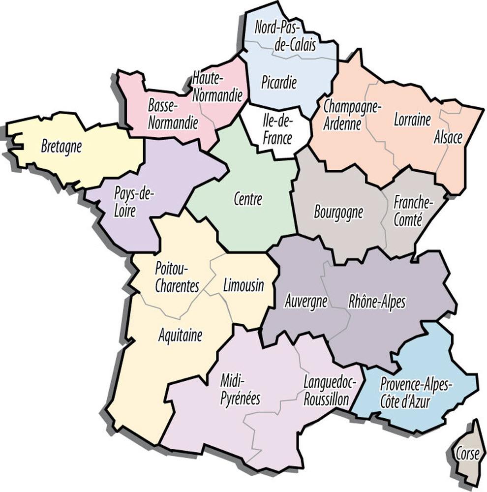 Une | Nommez Les Nouvelles Régions ! à Les Nouvelles Régions De France