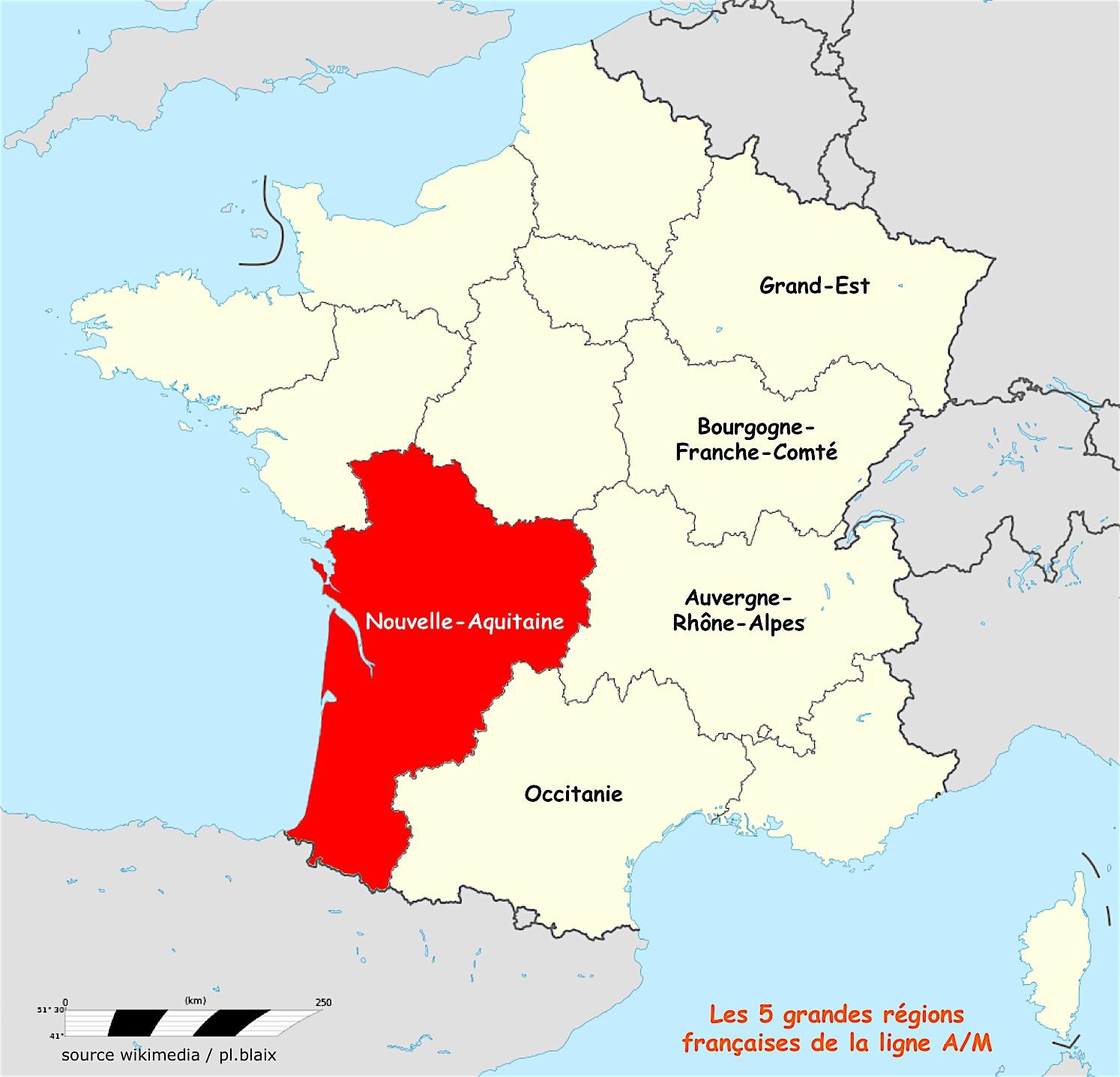 Une Région | Ligne De Partage | Page 16 serapportantà Carte Nouvelle Région France
