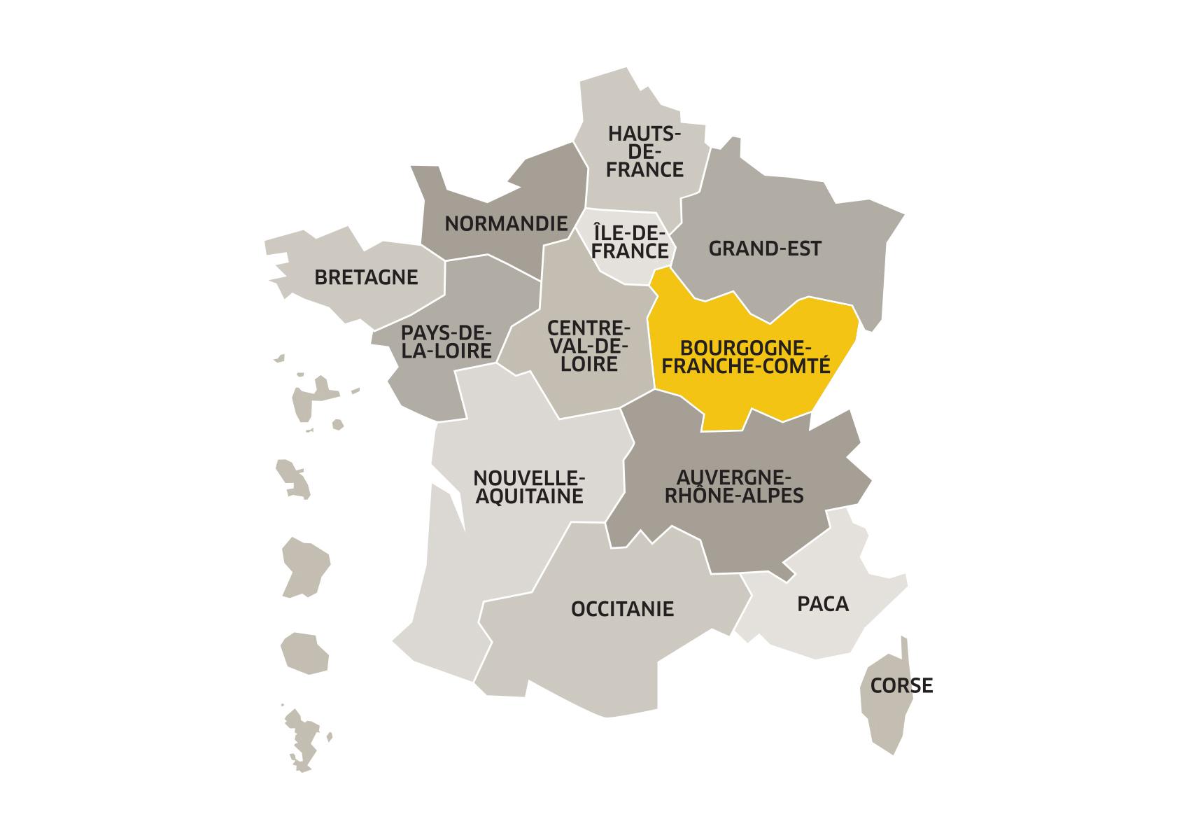 Une Région, Qu'est-Ce Que C'est ? tout Apprendre Les Régions De France