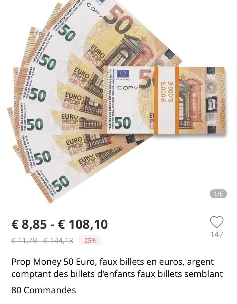 Une Vague De Faux Billets De Banque Venus De Chine Déferle dedans Argent Factice À Imprimer