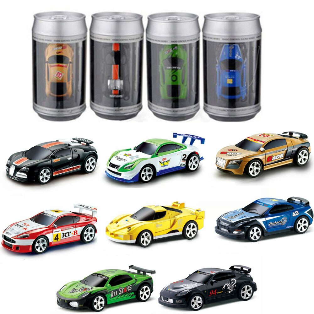 Us $13.89 35% Off|Coke Can Rc Car Toys Kids Remote Control Electric Micro  Racing Car 4 Frequencies Toy Educational Toys For Kids Gift Rc Model|Rc avec Voiture Requin Jouet