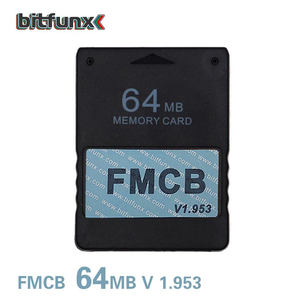 Us $8.9 35% Off|Bitfunx Free Mcboot 64Mb Memory Card For Ps2 Fmcb Memory  Card V1.953|Card|Card Card|Card Memory - Aliexpress intérieur Jeux De Memory Gratuit