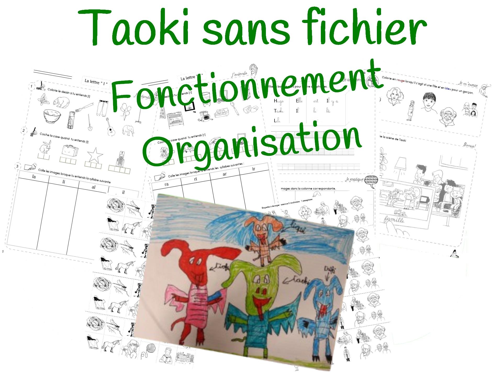 Utiliser Les Fiches Taoki pour Fiche D Exercice Grande Section A Imprimer