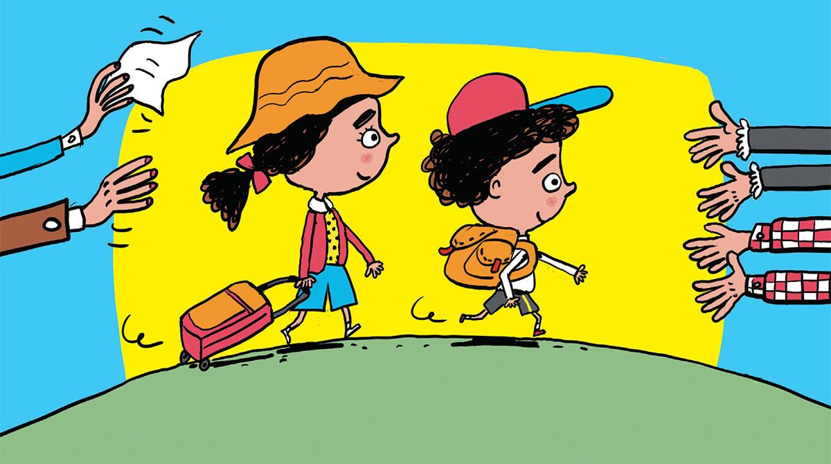 Vacances Sans Parents : Comment Préparer La Séparation à Cahier De Vacances Maternelle À Imprimer
