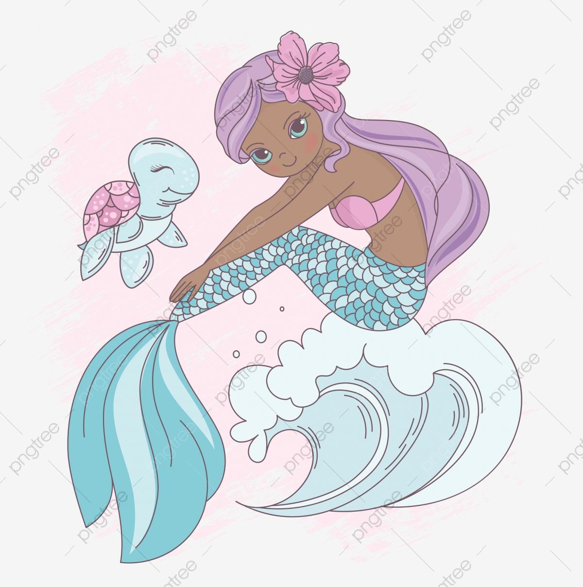 Vague Sirène Sous Leau La Princesse Marcher Cartoon Ocean encequiconcerne Dessin De Vague A Imprimer