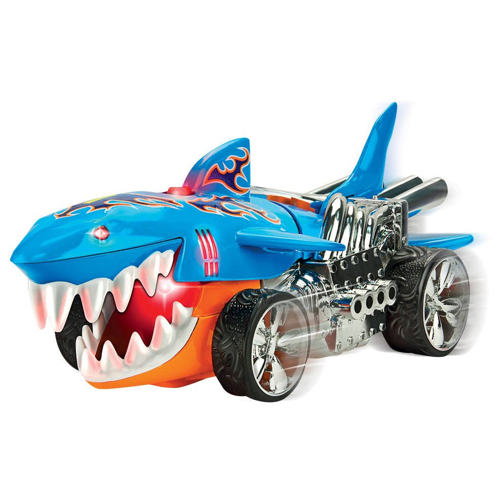 Vehicule Hot Wheels Extrem Action - Sharkruiser destiné Voiture Requin Jouet