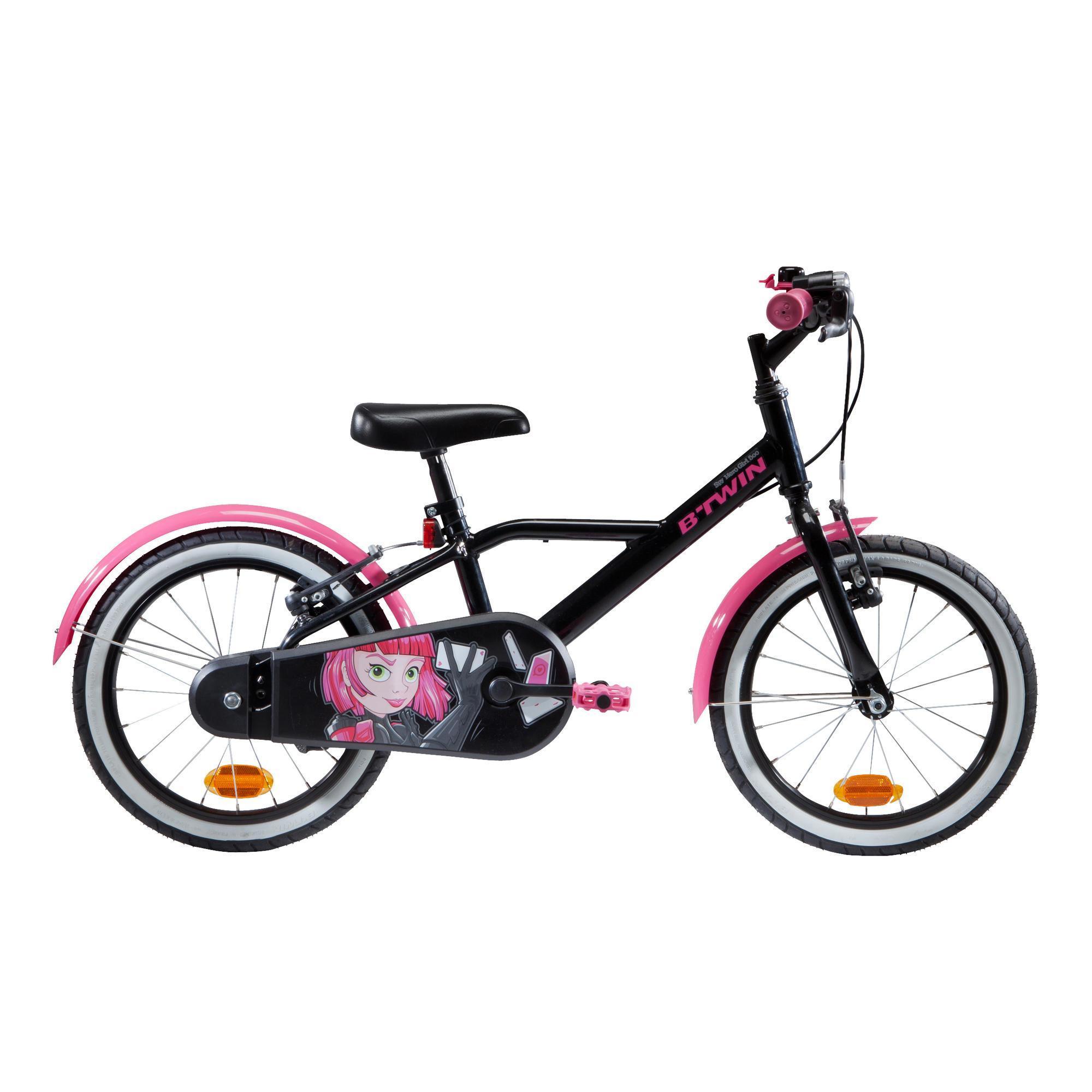 Vélo Enfant 3 À 6 Ans : Vélo 14 Et 16 Pouces | Decathlon tout Jeux Gratuit Pour Fille De 6 Ans
