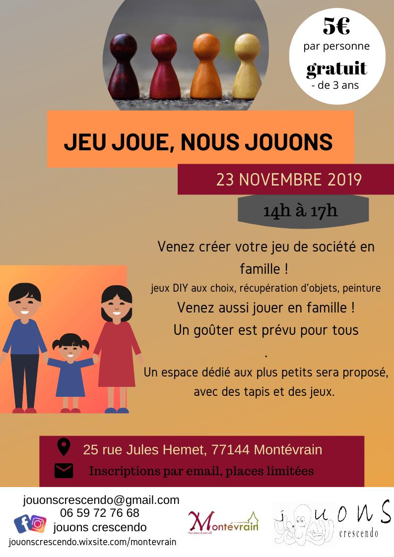 Venez Créer Votre Jeu De Société En Famille Au Village Des encequiconcerne Jeux Gratuit De Village