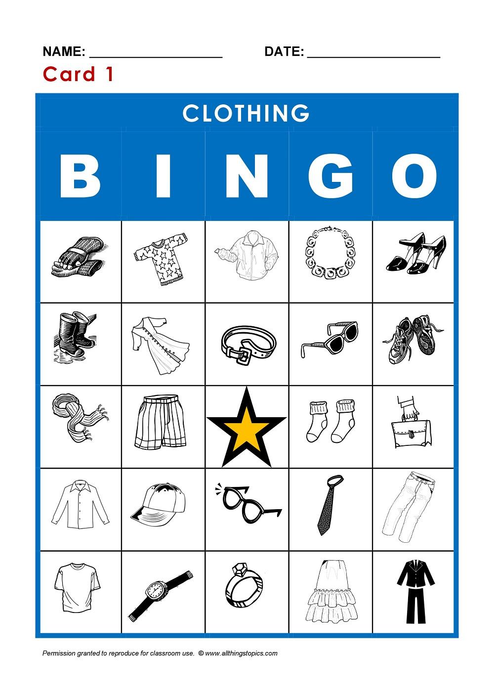 Vêtements En Anglais – My-Teacher.fr : Apprendre L'anglais serapportantà Jeux En Anglais A Imprimer