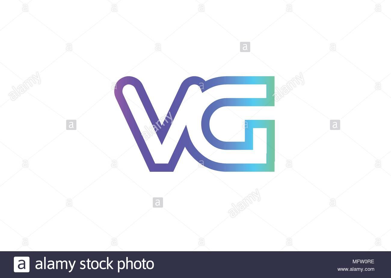 Vg V G Lettre Alphabet Combinaison Logo Vector Icône encequiconcerne Modele De Lettre Alphabet