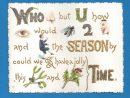 Victorian Rebus Christmas Card. Gilt Lettering. | Christmas encequiconcerne Rebus Noel