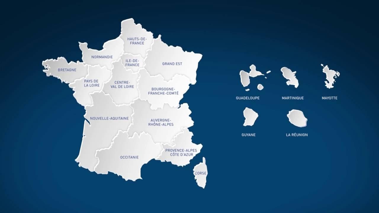 Vidéo-Clip Officiel De Régions De France serapportantà Apprendre Les Régions De France