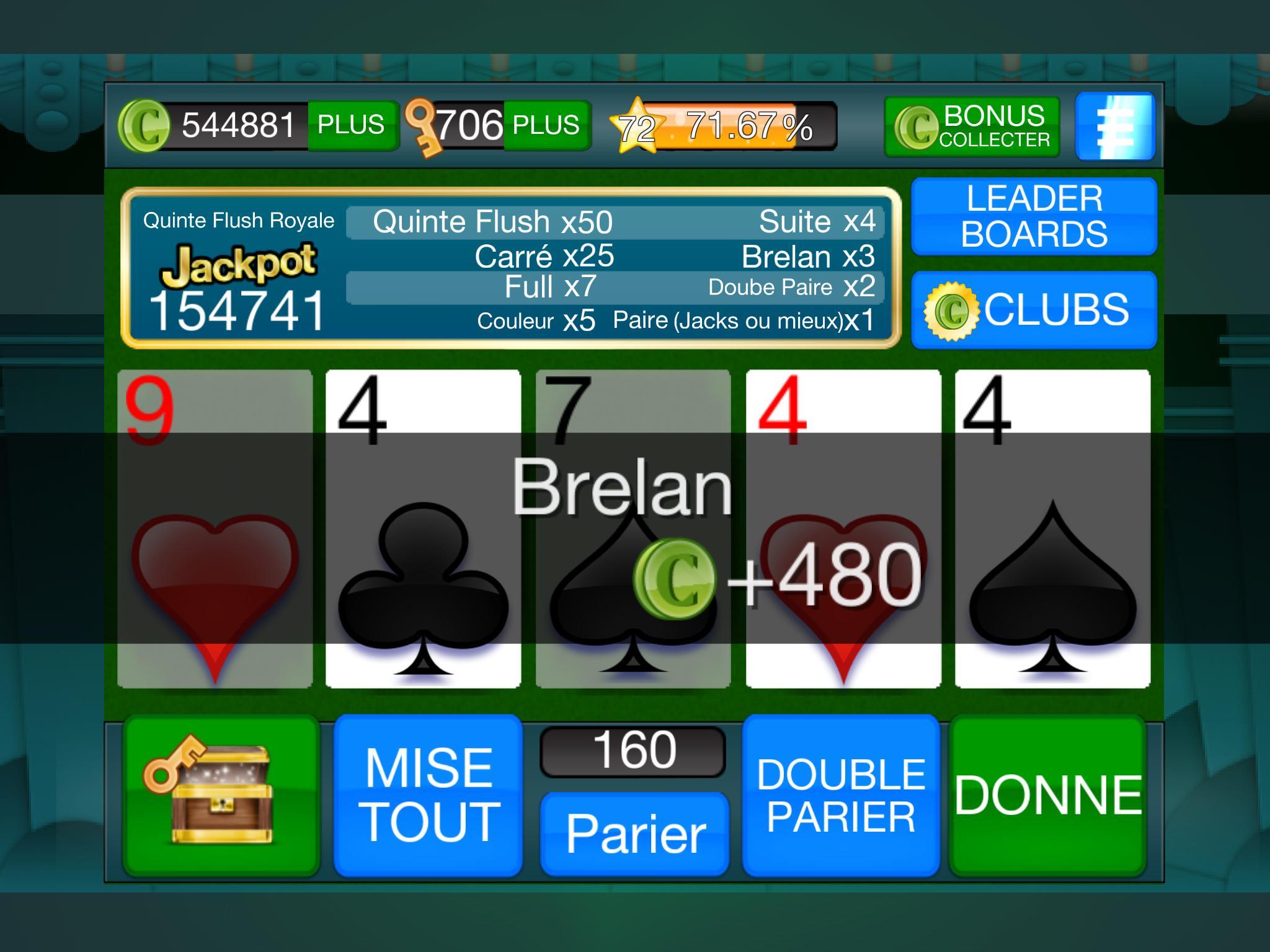 Vidéo Poker: Jeu Gratuit! Pour Android - Téléchargez L'apk concernant Jeux De Tout Gratuit