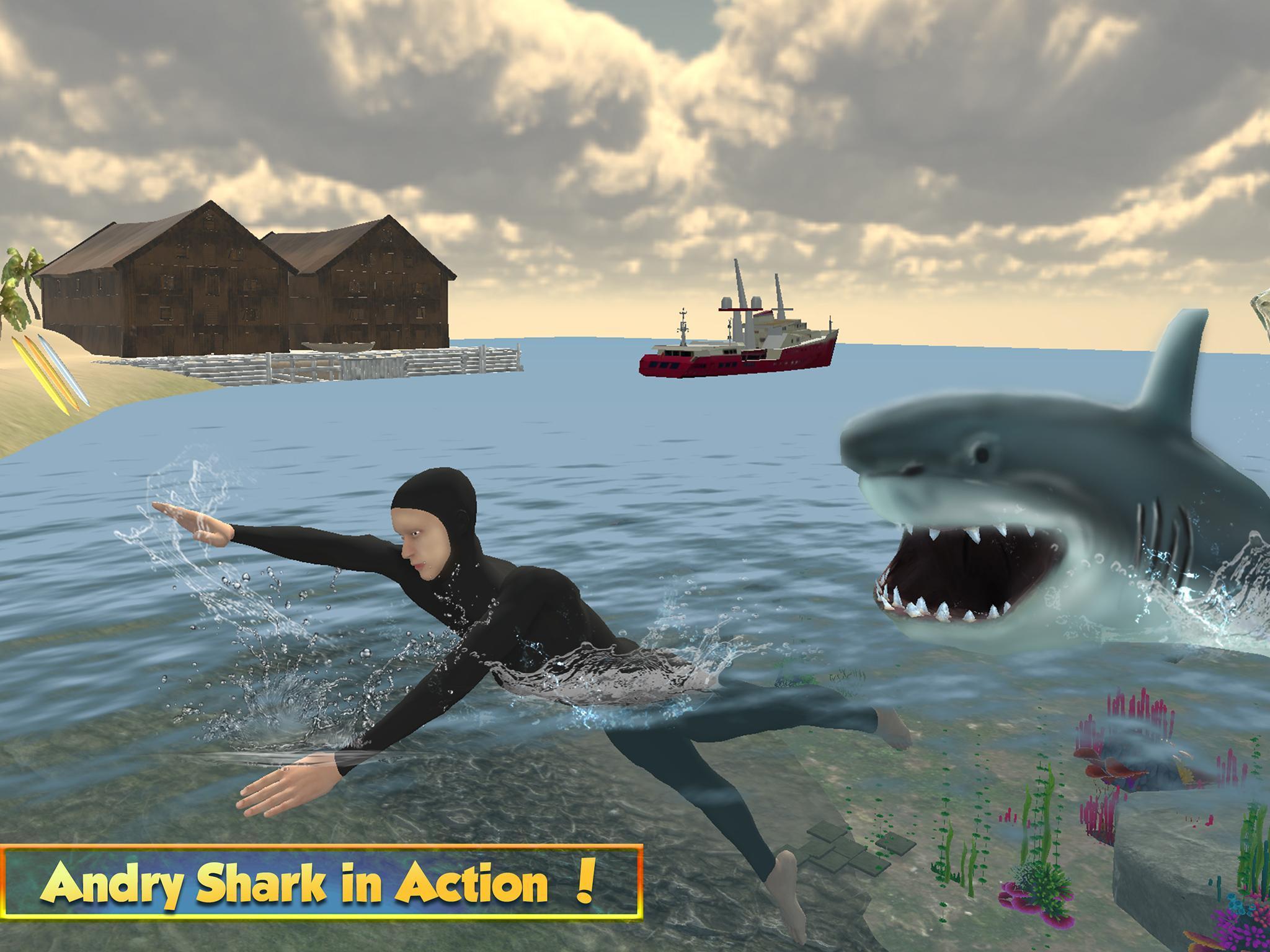 Vie Du Grand Requin Blanc: Simulation De Mégalodon Pour avec Jeux Gratuit Requin Blanc