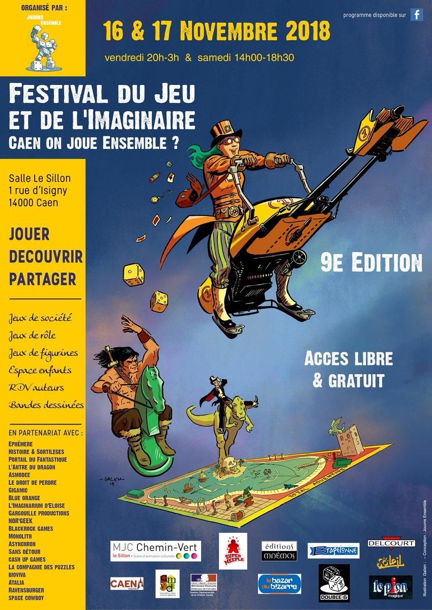 """Ville De Caen On Twitter: """"le Festival Du #jeu Et De L dedans Jouer Aux Puzzles Gratuitement"""