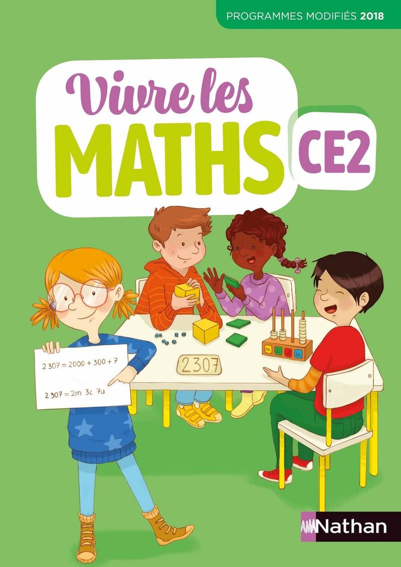 Vivre Les Maths - Ce2 - Fichier De L'élève - 9782091249735 dedans Jeu Educatif Ce2 Gratuit