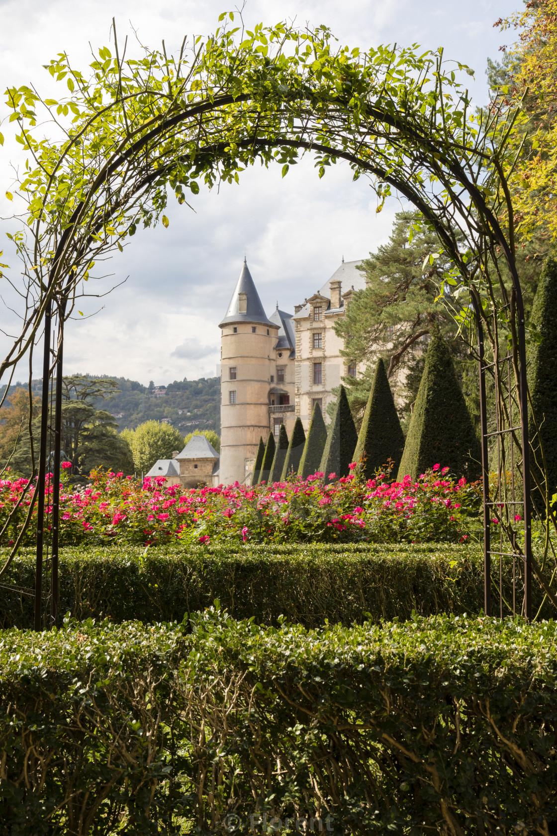 Vizille, Isere, France, September 30 2018: Chateau De pour Region De France 2018